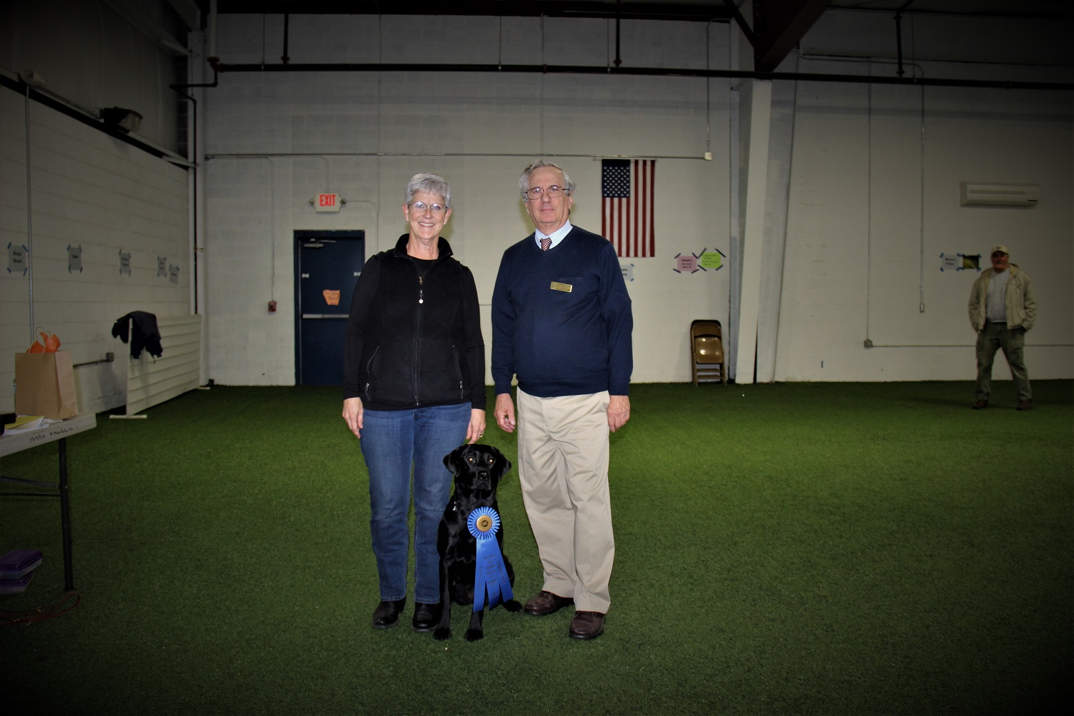 Success In The Obedience Ring Sandy and Annie had success at the BRDTC Obedience Trial.